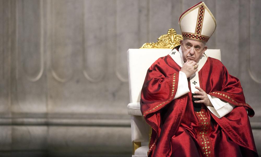 Papst warnt vor größerer Gefahr als Corona: Geschwätz