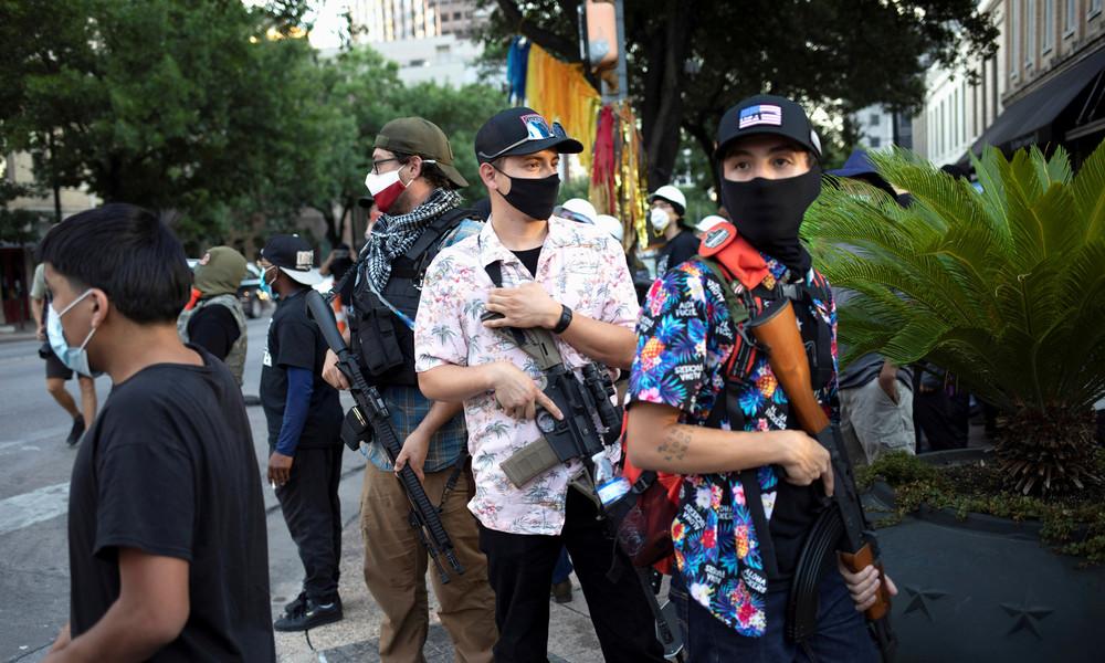 Boogaloo-Bewegung in USA und mögliche Kontakte zur Hamas in Palästina