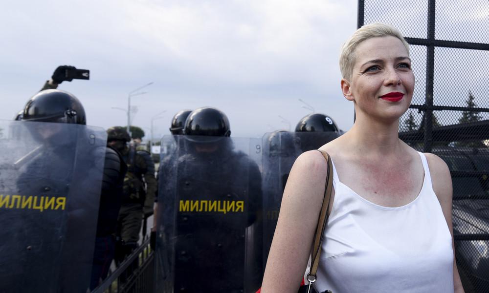 Medienberichte: Oppositionspolitikerin Kolesnikowa in Minsk verschwunden