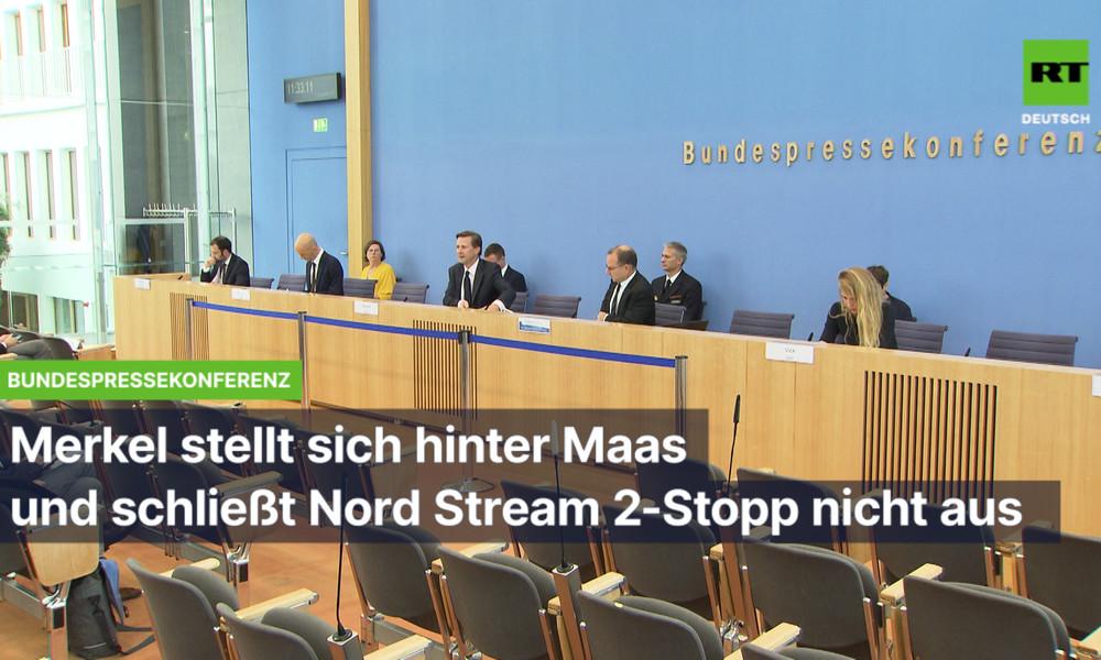 Etappensieg der Transatlantiker? – Merkel schließt Stopp von Nord Stream 2 nicht mehr aus