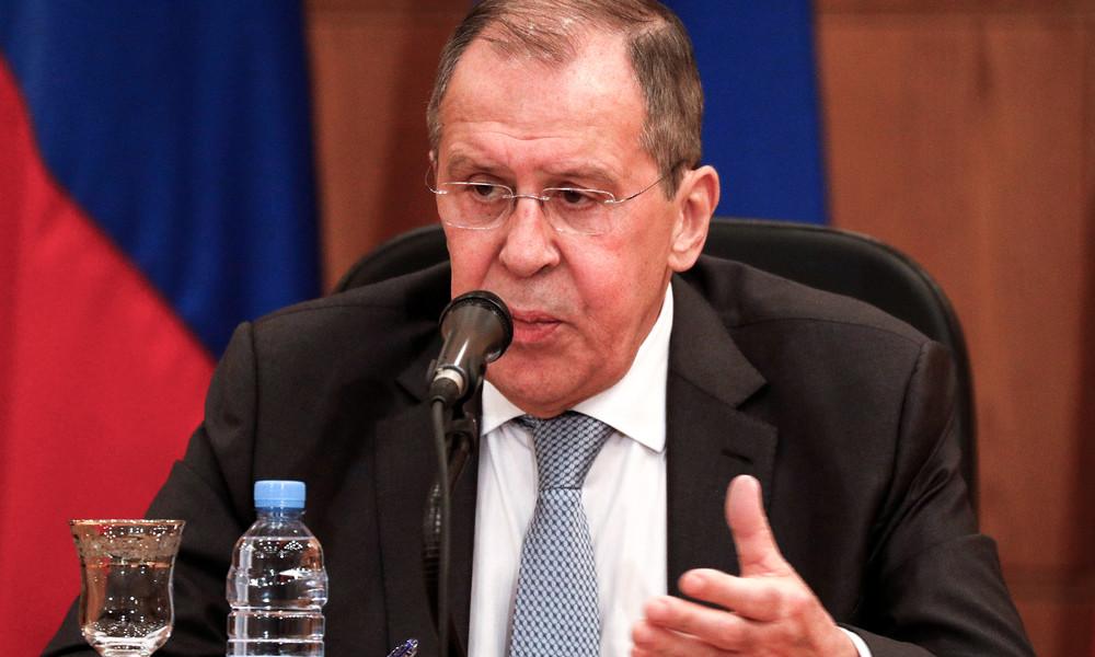 Außenminister Lawrow: Anschuldigungen gegen Russland zu Libyen werden nicht mit Fakten belegt