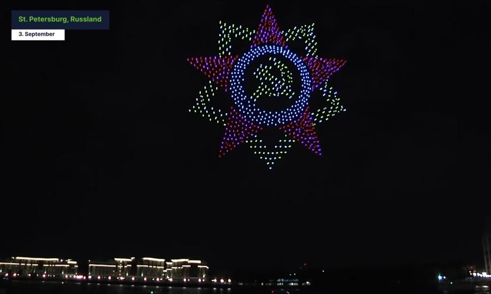 Russland: Spektakuläre Drohnenshow bricht Rekorde
