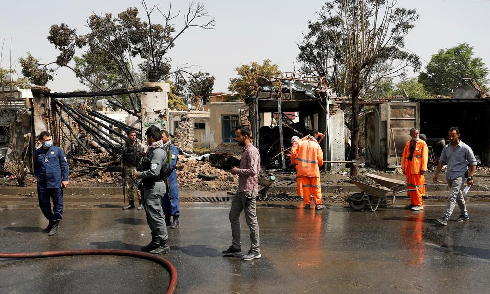 Amrullah Saleh: Afghanistans Vizepräsident überlebt Bombenattentat
