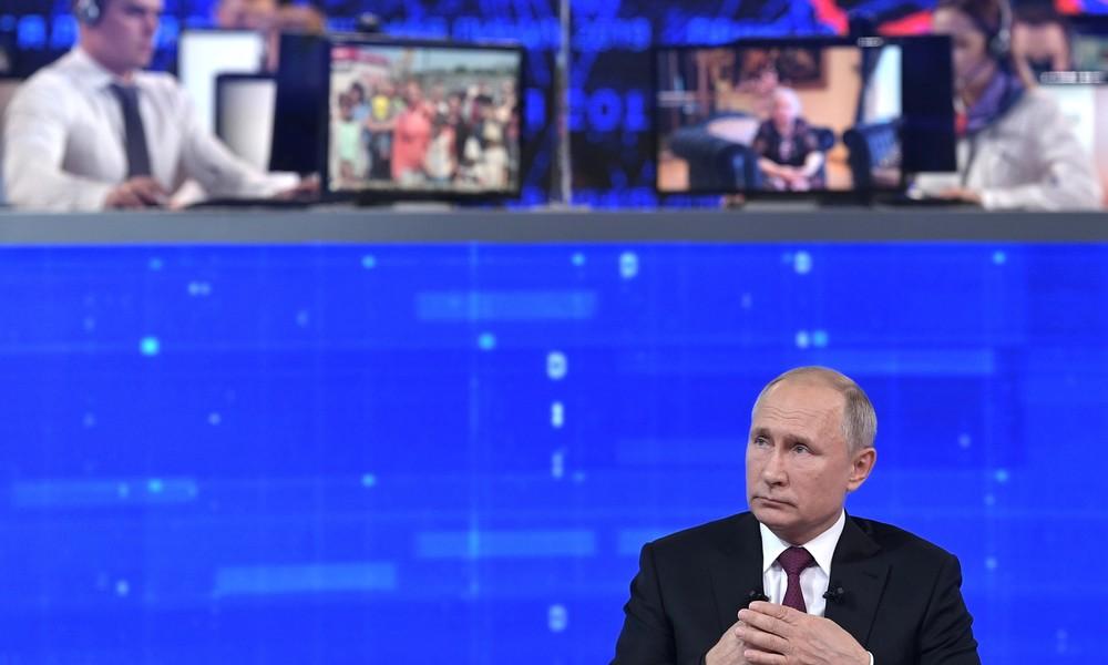 """Wegen Corona: Dieses Jahr kein """"direkter Draht"""" mit Putin"""