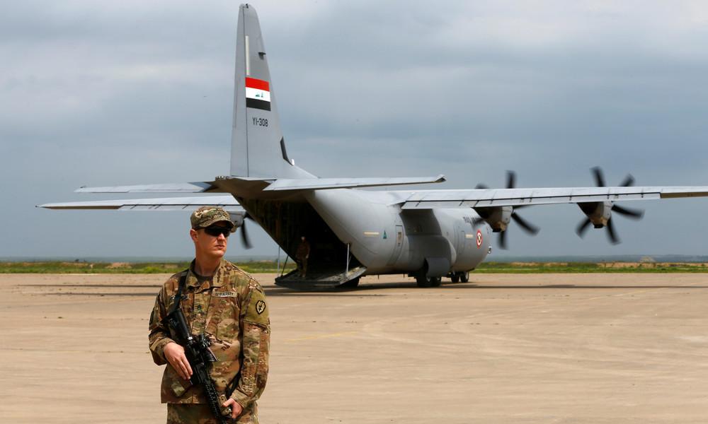 Pentagon kündigt massiven US-Truppenabzug aus dem Irak an
