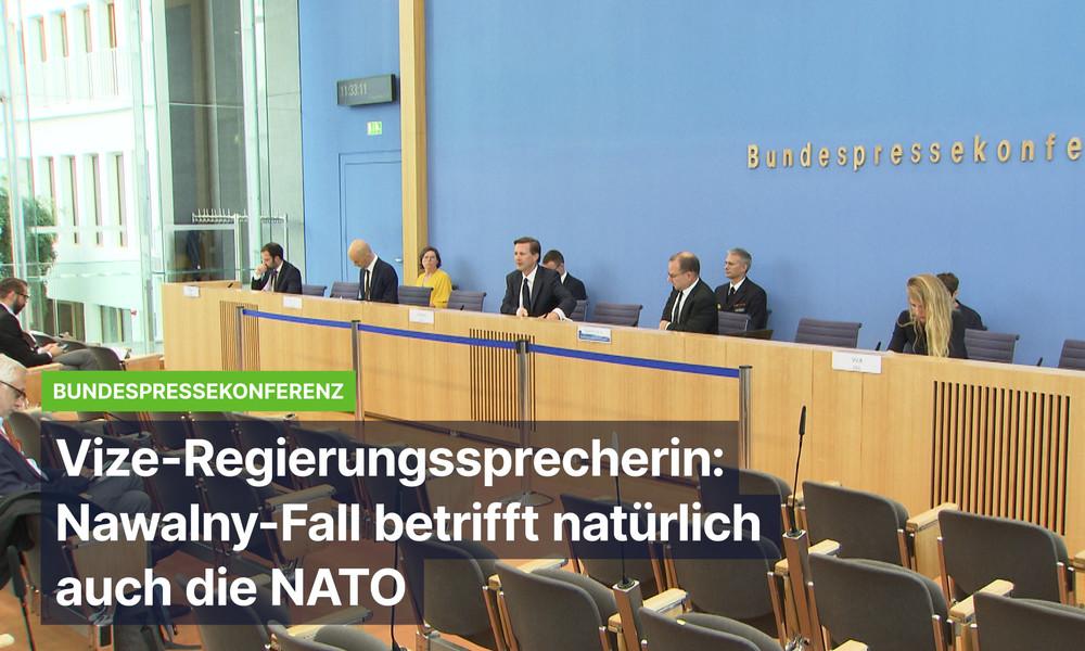 """Bundesregierung zu Nawalny: """"Russland hat Informationen, die gebraucht werden, nicht Deutschland"""""""