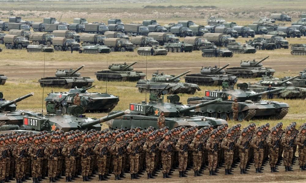 "China nimmt an Russlands Militärübungen ""Kaukasus 2020"" teil"