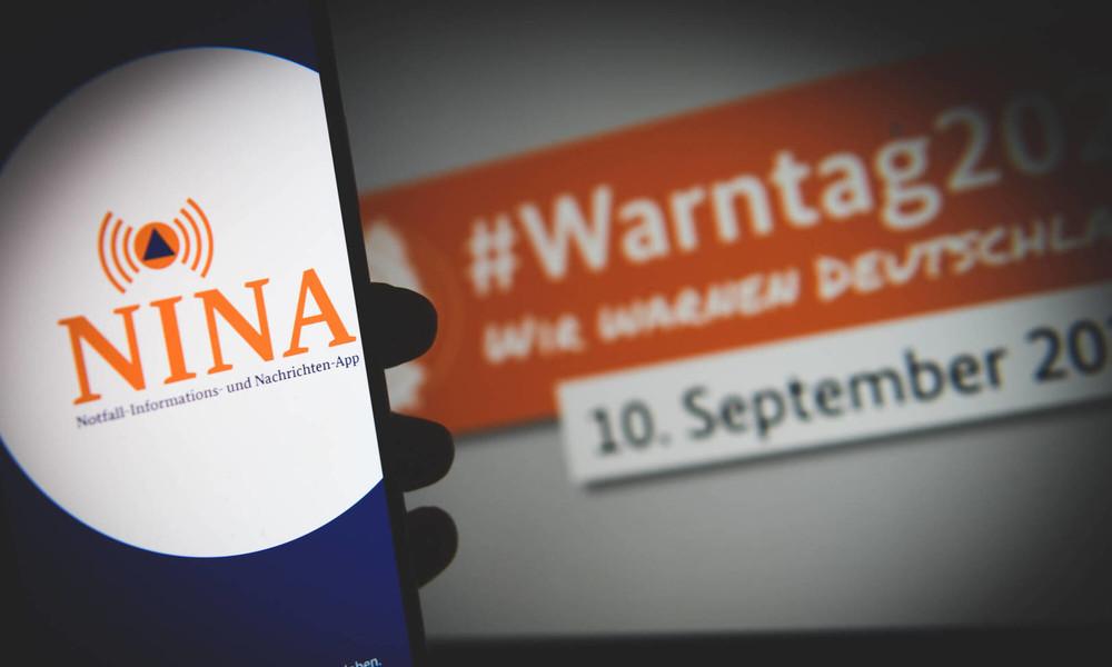 """""""Teilweise geklappt"""": Warn-Apps versagen beim ersten bundesweiten Probealarm"""
