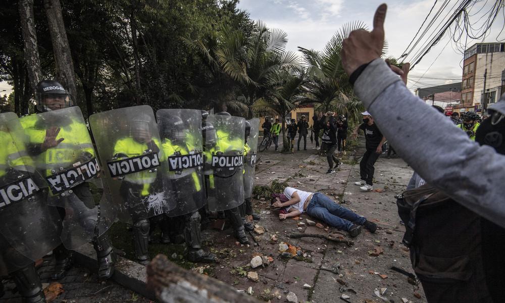 Kolumbien: Mindestens fünf Tote bei Protesten gegen Polizeigewalt