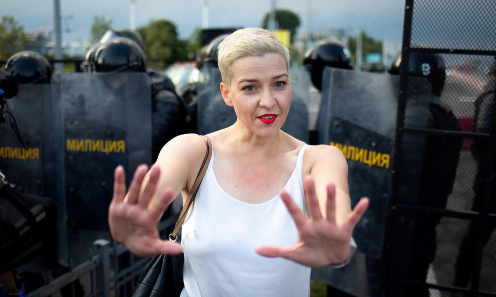 Weißrussland: Oppositionelle Kolesnikowa stellt Strafanzeige wegen Morddrohung