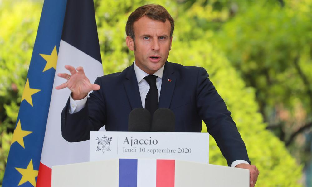 """""""Kein Partner mehr im östlichen Mittelmeer"""": Neuer Schlagabtausch zwischen Macron und Ankara"""