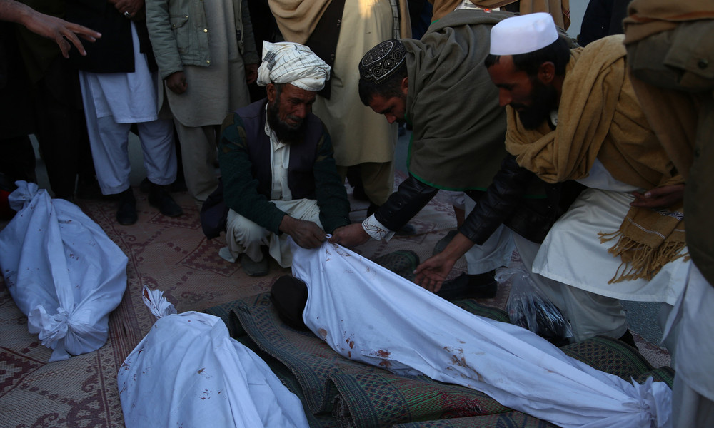 """""""Militärische Ziele"""" der USA in Afghanistan: Über 70 Kinder unter 117 Toten bei nur 11 Luftangriffen"""