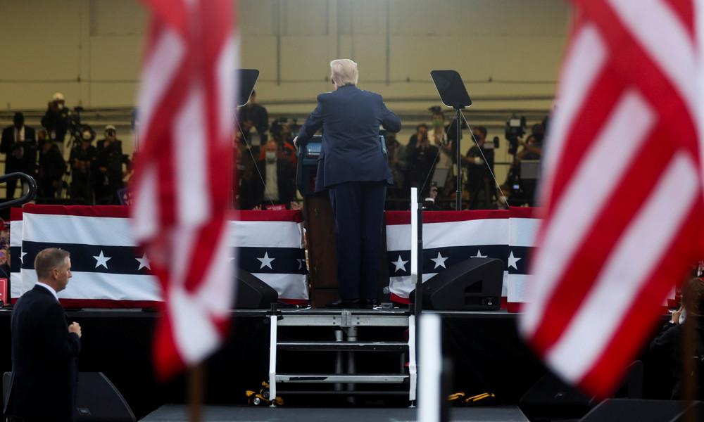 Handschrift bekannt: Trumps und Bidens Wahlkampagnen gleichen Psyops der CIA für Regimewechsel