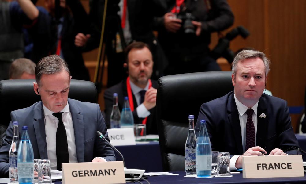 Maas macht mobil: Frankreichs Russlandpolitik im Visier