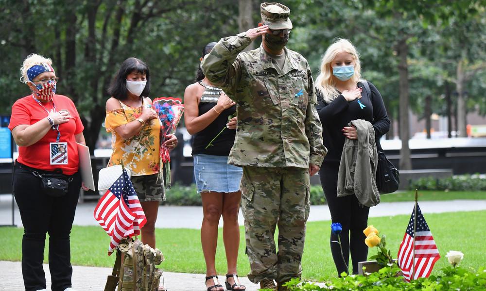 LIVE: 9/11-Memorial: New York 19 Jahre nach den Anschlägen auf das WTC