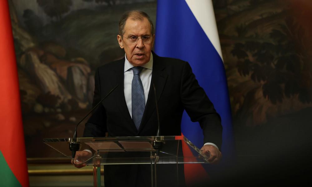 Lawrow zum Fall Nawalny: Wir hoffen, dass Deutschland mit den absurden Handlungen aufhört