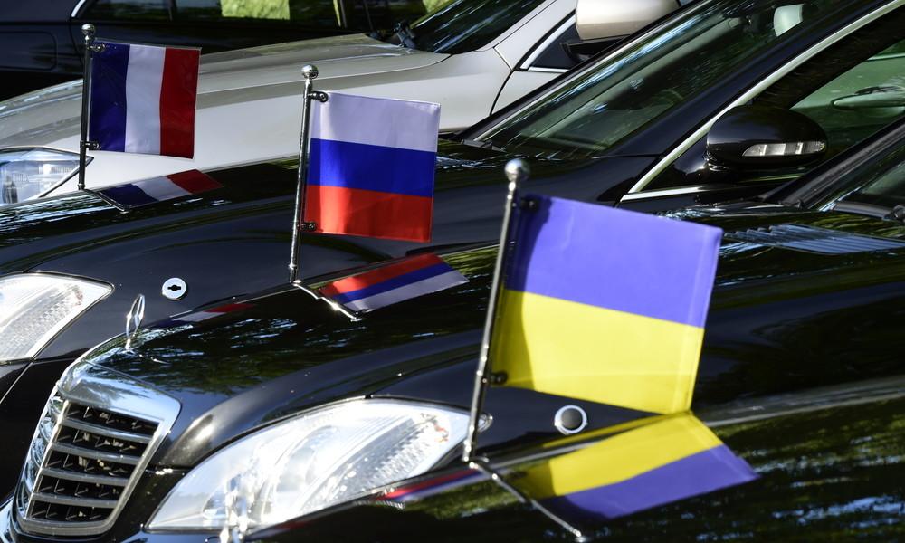 LIVE: Normandie-Treffen in Berlin: Ukraine-Beauftragter Russlands Kosak gibt Pressekonferenz
