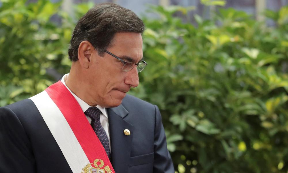 Peruanisches Parlament stimmt für Amtsenthebungsverfahren gegen Präsident Martín Vizcarra