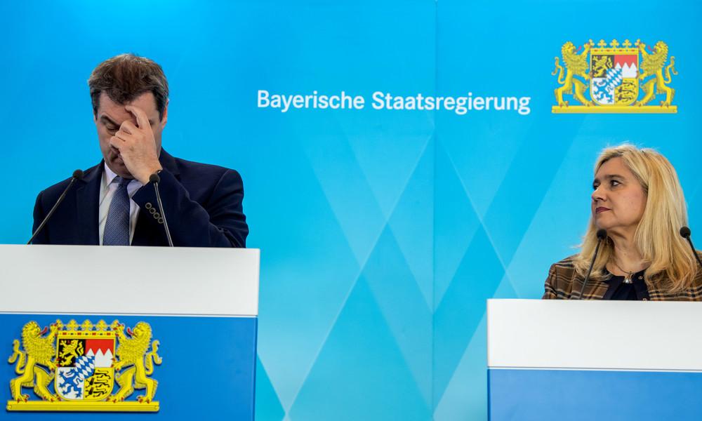 Entscheidungen zu Corona-Maßnahmen in Bayern nicht aktenkundig