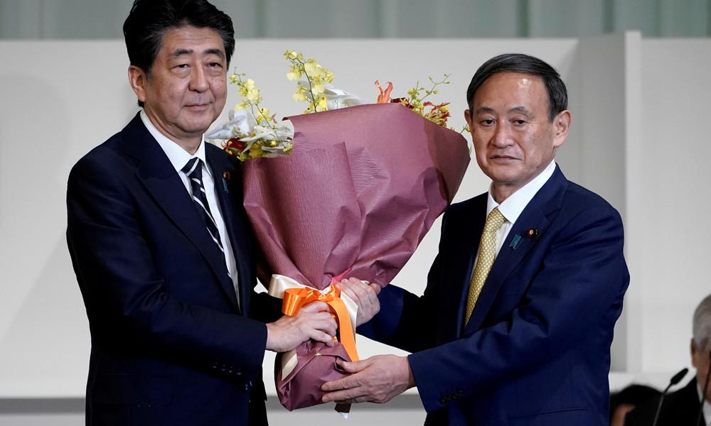 Japan: Yoshihide Suga als neuer Vorsitzender der Regierungspartei bestätigt