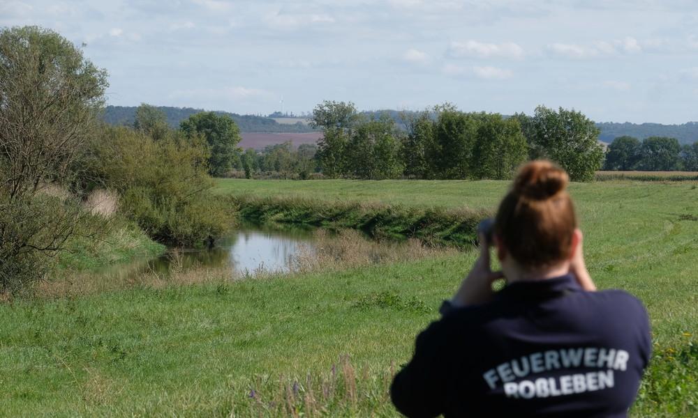 Hühnchen weg, Experte ran – Keine Entwarnung beim Unstrut-Krokodil