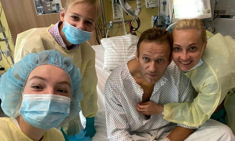 """""""Hallo, hier ist Nawalny"""": Russischer Oppositionspolitiker postet Foto auf Instagram"""