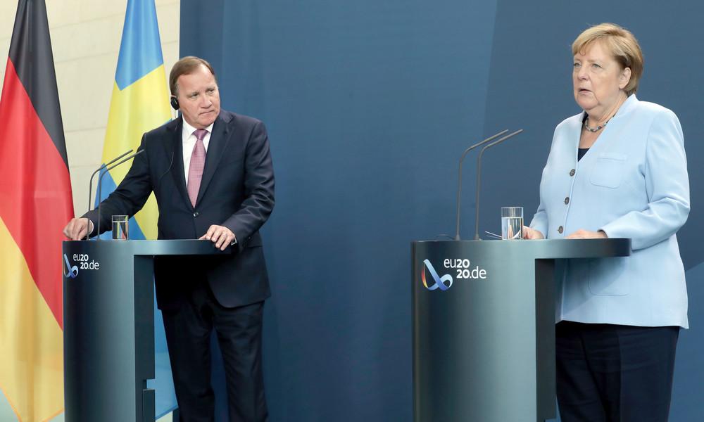 Schweden will die Aufnahme von Migranten aus Lesbos blockieren