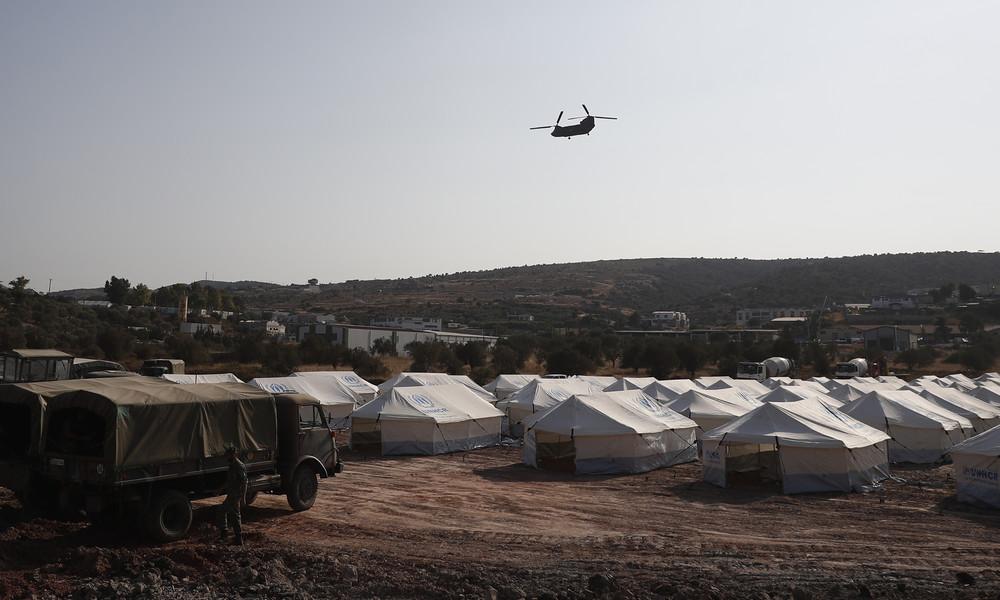 LIVE aus Lesbos, nachdem Deutschland angekündigt hatte, 1.500 Migranten aufzunehmen