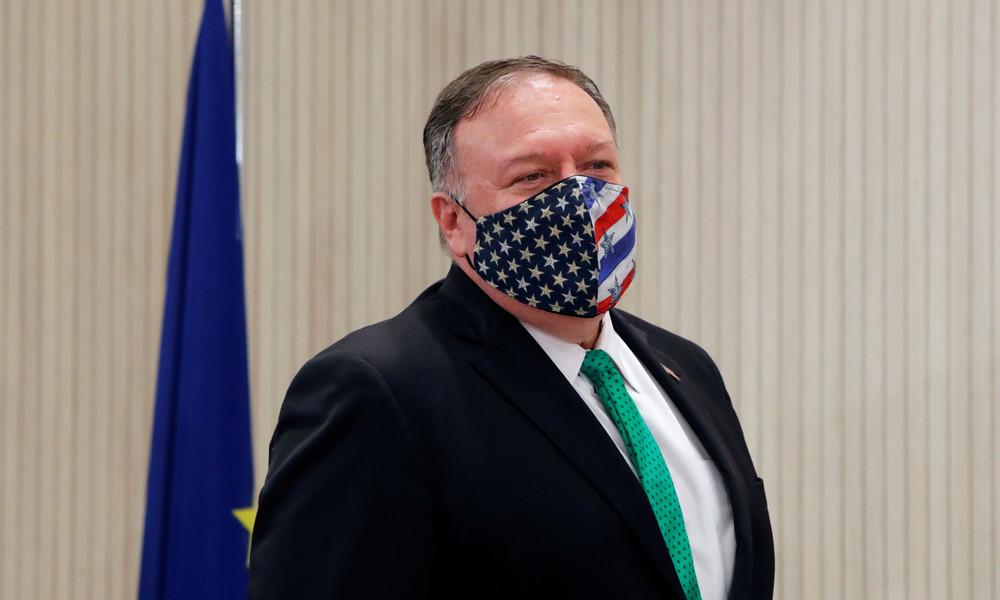 US-Außenminister Pompeo: Frankreich sollte für Freiheit und nicht für Teheran stehen