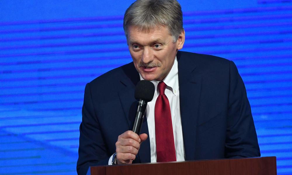 """Kremlsprecher Peskow: """"Es steht Nawalny frei, Russland zu verlassen oder zurückzukehren"""""""