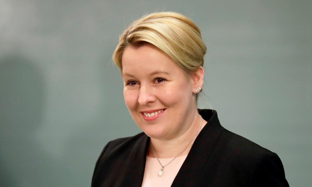 Bundesfamilienministerin Franziska Giffey will zurück nach Berlin