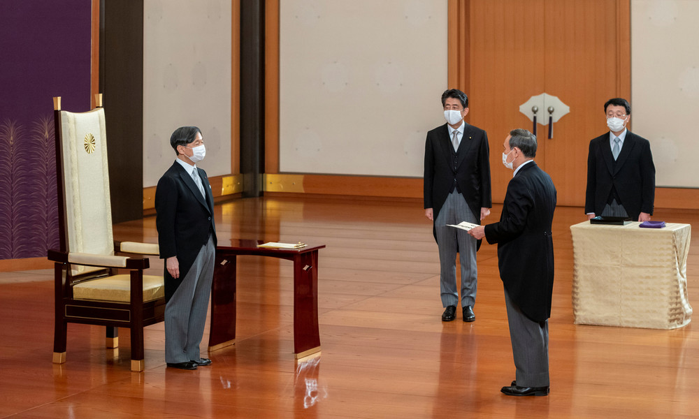 In Japan nichts Neues: Neuer Premierminister will Bündnis mit USA stärken