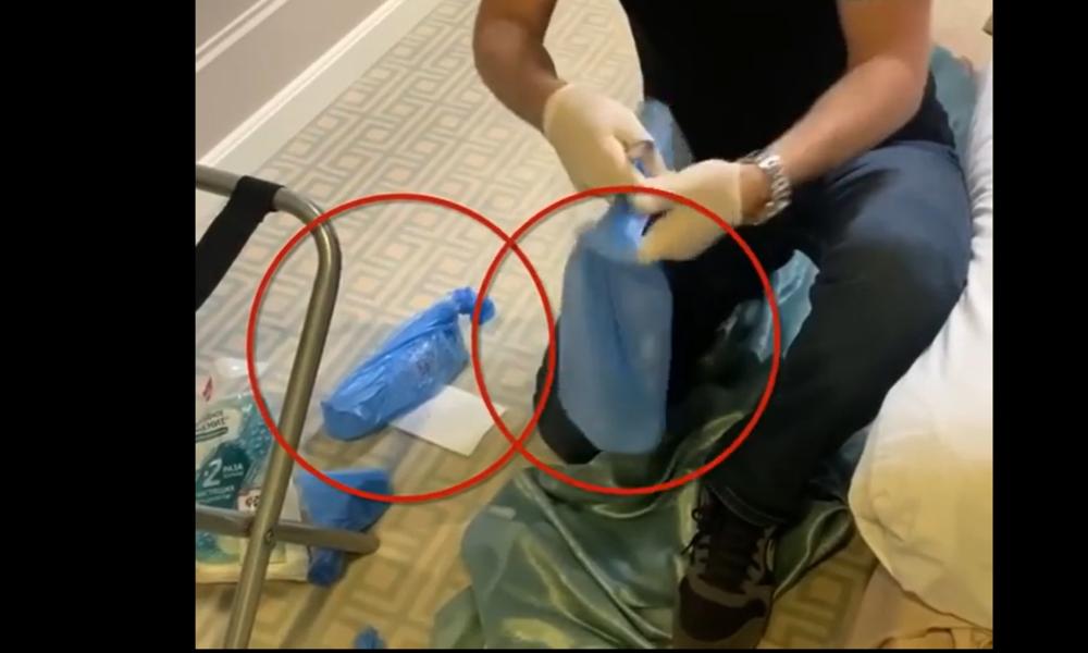 Nawalny-Team nahm Wasserflaschen aus dem Hotel mit, um sie später nach Deutschland zu schmuggeln