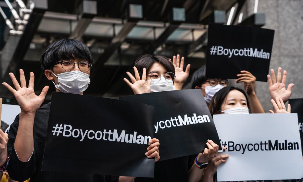 """China-Kritiker rufen zu Boykott von """"Mulan"""" auf"""