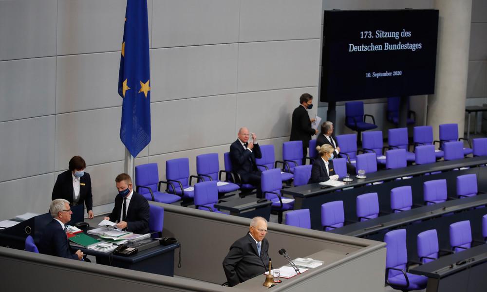 LIVE: 177. Sitzung des Bundestages – Konsequenzen aus Moria, Nord Stream 2, Irak-Bundeswehreinsatz