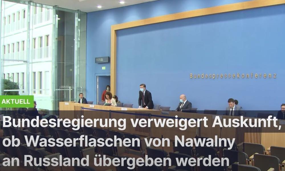"""Nawalnys """"Nowitschok-Flaschen"""" in deutschem Besitz? Bundesregierung will nichts bestätigen"""
