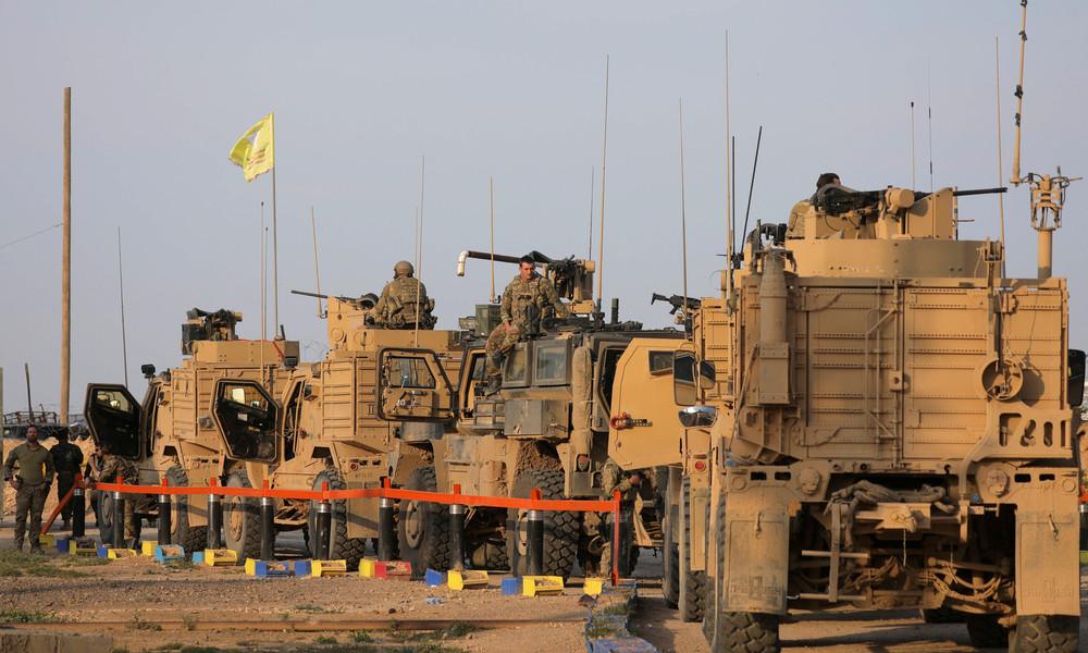 USA schickten Schützenpanzer nach Syrien und stocken Luftpatrouillen auf
