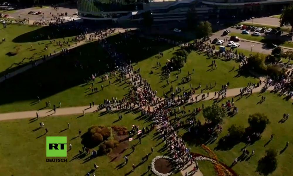 LIVE: Anti-Regierungsproteste in Minsk