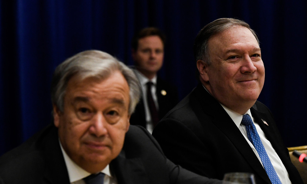UN-Chef spricht sich gegen Vorhaben der USA zur Wiedereinführung der Iran-Sanktionen aus