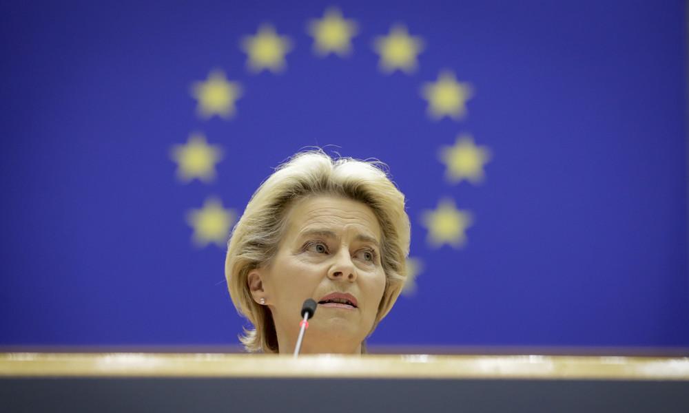 """Uschis Schicksalsgemeinschaft: Von der Leyens """"Rede zur Lage der EU"""""""