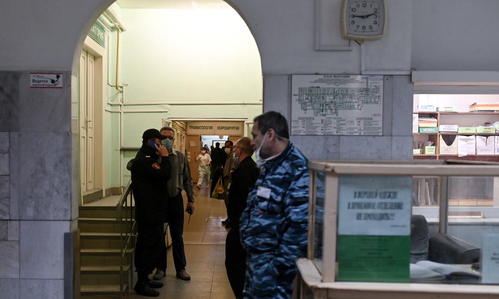 Omsker Krankenhaus: Nawalnys Kleidung von Ermittlern gesichert – Keine Giftspuren