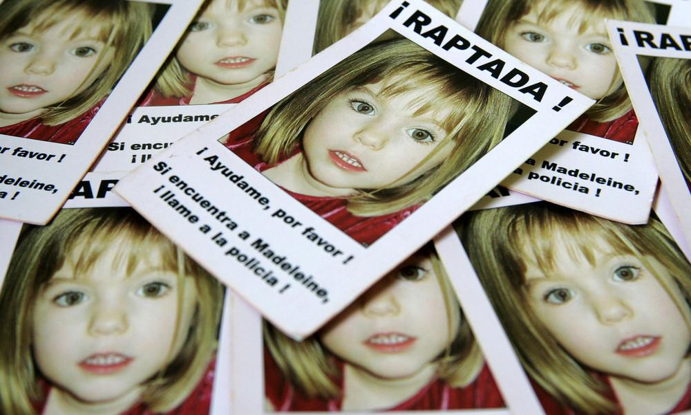 """Fall """"Maddie"""": Neue Ermittlungen gegen mutmaßlichen Täter wegen Vergewaltigung einer Irin"""