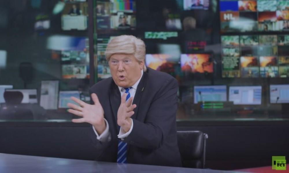 Von der Grenzmauer zur Kremlmauer: Donald Trump bekommt Jobangebot von RT