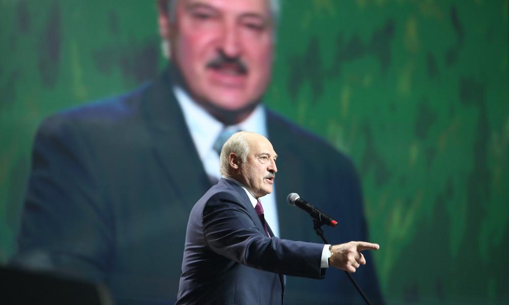 Sechste Amtszeit: Alexander Lukaschenko als Präsident von Weißrussland vereidigt