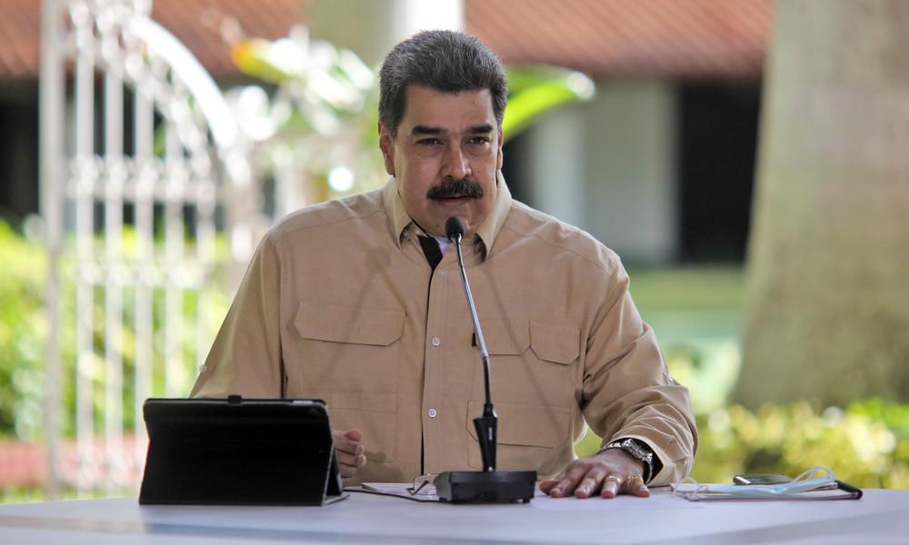 Maduro: Vereitelte Terroranschläge und Sabotageakte wurden von der CIA in Auftrag gegeben