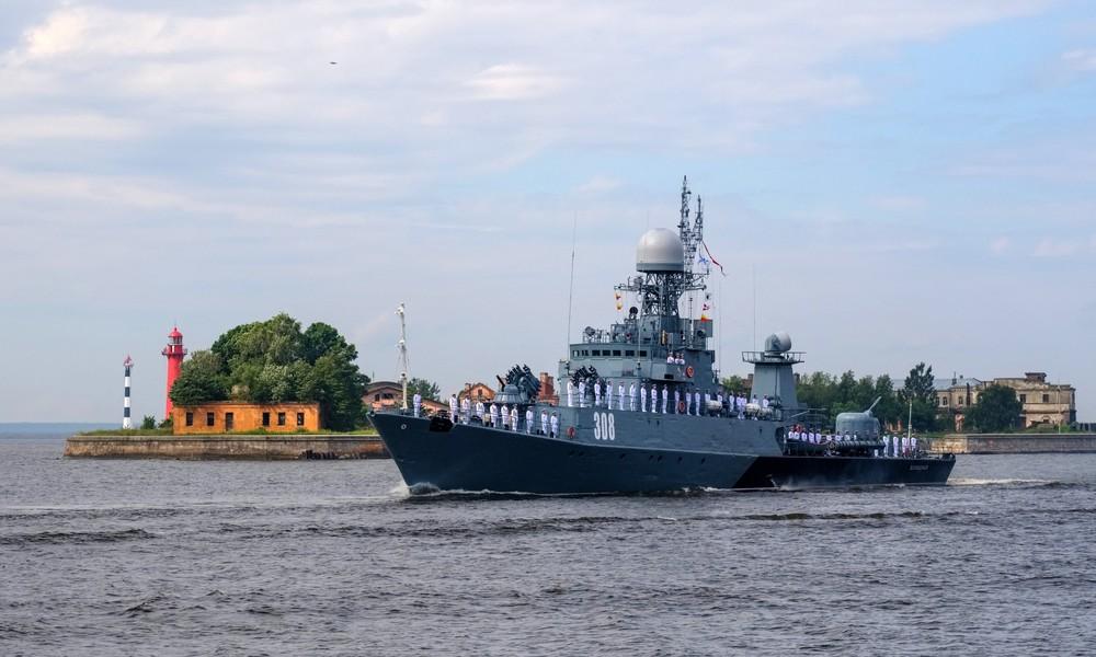 Russische Fregatte bei Kollision mit Frachter im Öresund beschädigt