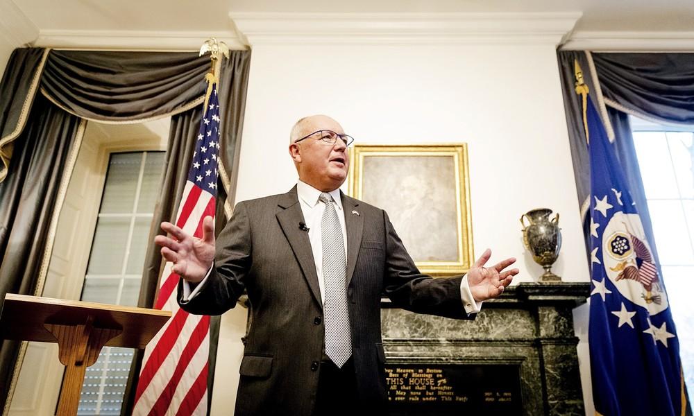 Wahleinmischung? US-Botschafter in Niederlande soll Spenden für rechte Partei gesammelt haben