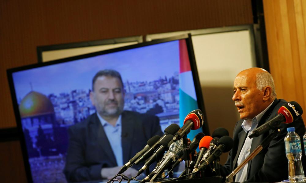 Vertreter von Hamas und Fatah treffen sich zu Versöhnungsgesprächen in Ankara