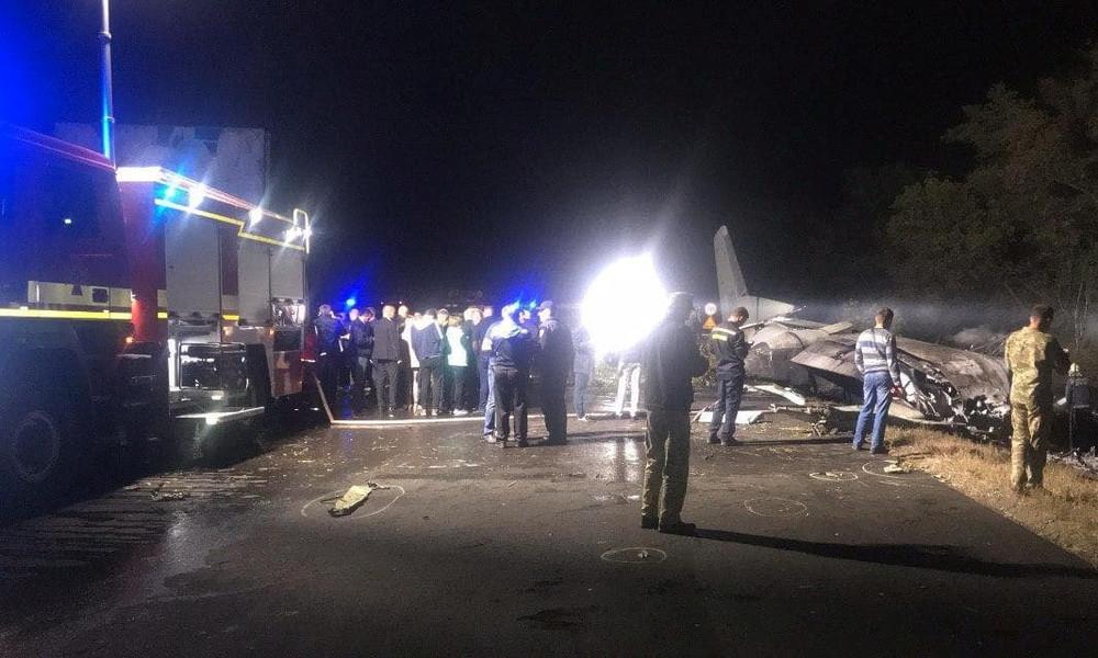 Ukraine: Mehr als 20 Tote bei Absturz eines Militärflugzeugs