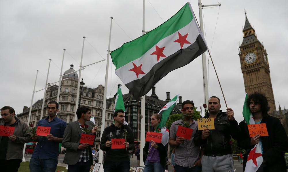 """""""Benutze die Medien, um ein Ereignis zu schaffen"""" – Londons Schattenkrieg in Syrien enthüllt"""